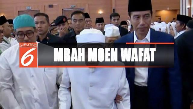 Presiden Joko Widodo turut berduka cita atas wafatnya Mbah Moen. Presiden Jokowi sudah meminta KBRI Makkah untuk membantu mengurus kepulangan jenazah Mbah Moen.