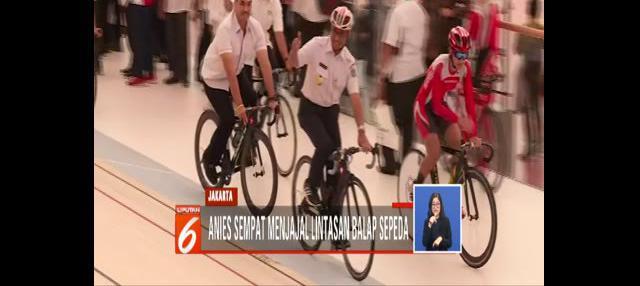 Gubernur memastikan, arena berstandar internasional yang sanggup menampung 3500 penonton itu siap digunakan.