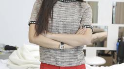 Natasha Wilona kerap tampil kasual dengan makeup tipis natural. Namun, siapa sangka pada 2017 lalu, ia masuk dalam jajaran 100 wanita tercantik sedunia enurut TC Candler (Kapanlagi/Budy Santoso)