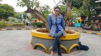 Naomi Novita, Terapis anak autis dan down syndrome, Tangerang Selatan (4/3/2020).