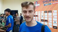 Rene Mihelic, pemain anyar Persib asal Slovenia. (Bola.com/Erwin Snaz)