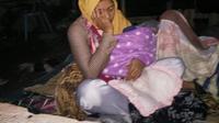 Gempa 7 Skala Ritcher mengguncang Lombok pada Minggu, 5 Agustus 2018. (Liputan6.com/Sunariyah)