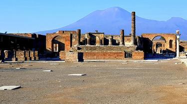 Ilustrasi Pompeii
