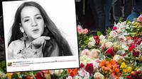 Ebba Akerlund, gadis kecil yang terbunuh dalam serangan teror di Stockholm pada April 2017 (AFP Photo)