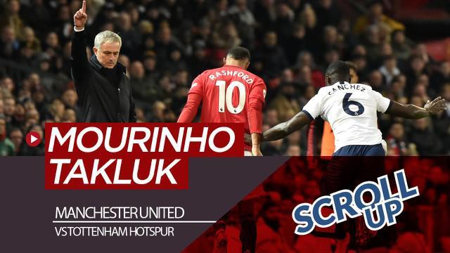 Berita video Scroll Up kali ini membahas Manchester United menaklukkan Tottenham Hotspur, yang ditangani mantan manajer The Red Devils, Jose Mourinho.