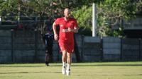 Penyerang anyar PSM Makassar, Anco Jansen. (Bola.com/Abdi Satria)