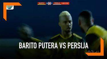 Persija imbang 1-1 melawan Barito Putera pada laga yang berlangsung di stadion 17 Mei, Banjarmasin. Persija sempat unggul terlebih dahulu lewat gol Marko Simic. Namun Barito Putera mampu menyamakan kedudukan lewat gol Rafael Silva.