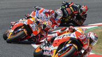 Para pebalap MotoGP memiliki cara masing-masing untuk menikmati liburan jeda tengah musim 2017. (AFP/Josep Lago)