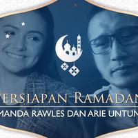 Persiapan Amanda Rawles dan Arie Untung menyambut Ramadan.