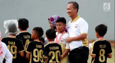 Mensos Agus Gumiwang Saksikan Turnamen Asiana Cup