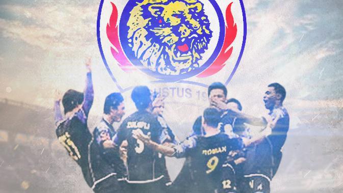 Arema FC- Juara ISL 2009-2010 (Bola.com/Adreanus Titus)