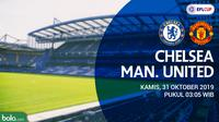 Piala Liga Inggris - Chelsea Vs Manchester United (Bola.com/Adreanus Titus)
