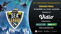 ONE Esports Dota 2 SEA League Grand Final. (Sumber: Vidio)