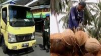 Jelang Ramadan, Dishub Yogyakarta menggelar razia angkutan barang, hingga air kelapa banyak memiliki manfaat jika dikonsumsi tubuh.