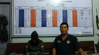 Oknum Aparatur Sipil Negara (ASN) di Kota Binjai, Sumatera Utara, berupaya menyelundupkan sabu dan kondom ke Lembaga Pemasyarakatan (Lapas) Klas II B Binjai (Liputan6.com/Reza Efendi)