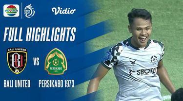Berita video highlights laga pekan keenam BRI Liga 1 2021/2022 antara Bali United melawan Persikabo 1973 yang berakhir dengan skor 1-1, Sabtu (2/10/2021) sore hari WIB.