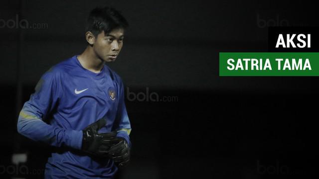 Satria Tama gabung bersama Timnas Senior Indonesia jelang menghadapi Fiji, Sabtu (2/9/2017).