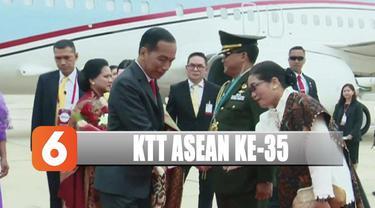 Dari bandara Jokowi dan Iriana langsung menuju ke hotel tempat penginapan selama berada di Bangkok.