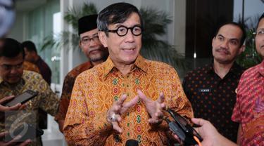 20160924 Menkumham Yasonna Laoly Tutup Rakor Pembangunan Hukum Indonesia