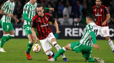 Gelandang AC Milan, Diego Laxalt