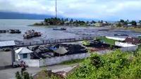 Usaui gempa Magnitudo 6,1 Maluku Tengah, BMKG meminta warga untuk menjauhi pantai dan segera menuju tempat tinggi. (Liputan6.com Abdul Karim)