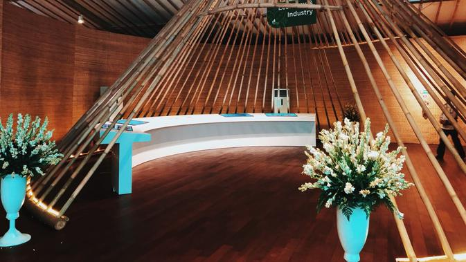 Penampakan Indonesia Pavilion di Bali. Dok: Istimewa