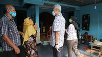 Ganjar Pranowo mengunjungi rumah pemilik kos waktu sekolah di Yogyakarta.