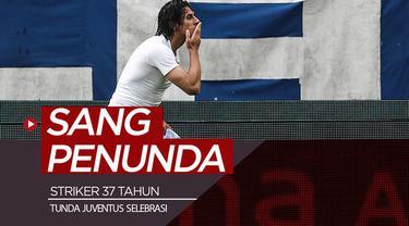 Berita video striker 37 tahun di SPAL, Sergio Floccari, membuat Juventus menunda selebrasi juara Serie A 2018-2019.