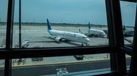 Pesawat parkir di Terminal 3 Bandara Soekarno Hatta, Tangerang. Dok AP2