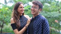 Nadine Chandrawinata dan Dimas Anggara (Adrian Putra/Fimela.com)