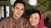 Potret harmonis keluarga Rama Michael dan Chika Friska Sanjaya. (Sumber: Instagram/rama_michael)