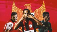 Timnas Indonesia - Taufik Hidayat, Ramai Rumakiek, Ricky Kambuaya (Bola.com/Adreanus Titus)