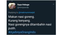 Ajaibnya Orang Indonesia Versi Netizen (Sumber: Twitter)