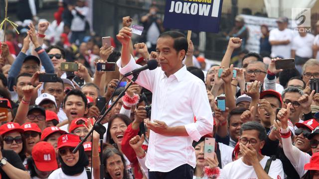Jokowi Hadiri Deklarasi Jabar Ngahiji di Bandung