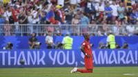3. Ashley Young - Inggris. (AFP/Manan Vatsyayana)