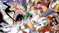 Manga One Piece. (Shueisha)