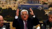 Presiden Otoritas Palestina Mahmoud Abbas (AFP Photo)