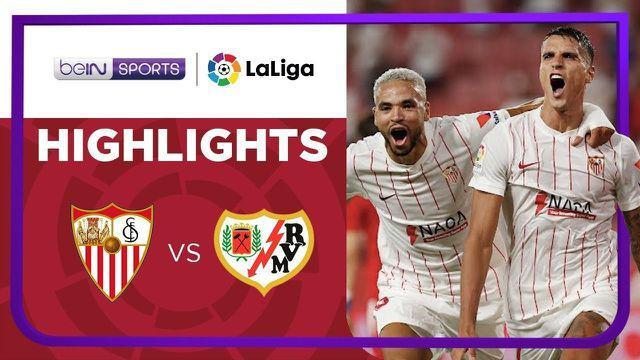 Berita video momen anak Zinedine Zidane, Luca, saat diganjar kartu merah dalam laga Sevilla kontra Rayo Vallecano pada pekan pertama Liga Spanyol (LaLiga) 2021/2022, Senin (16/8/2021) dinihari WIB.