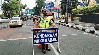 Sejak 1-16 September 2021, 595 Kendaraan Ditilang karena Melanggar Ganjil Genap