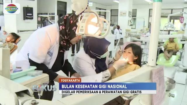 Bulan Kesehatan Gigi Nasional (BKGN) bulan ini diselenggarakan di Universitas Gajah Mada, Yogyakarta dari tanggal 17 hingga 19 Oktober.