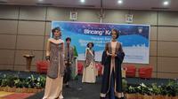Batik kajang padati dipamaerkan di Padang. (Liputan6.com/ Diskominfo Kota Padang)