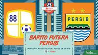 Shopee Liga 1 - Barito Putera Vs Persib Bandung (Bola.com/Adreanus Titus)