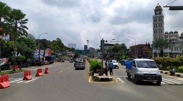 Ilustrasi Lalin Jalur Puncak Bogor