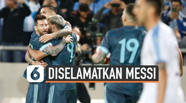 Laga persahabatan Argentina dan Uruguay berlangsung imbang. Skor 2-2 terus bertahan hingga akhir pertandingan.