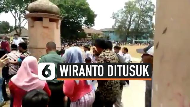 Insiden penusukan Menkopolhukam Wiranto di Pandeglang hari Kamis (10/10) menimbulkan tanda tanya, terkait pengamanan yang diterapkan pada pejabat negara itu. Berikut penjelasan Kapolda Banten, Irjen Tomsi Tohir.