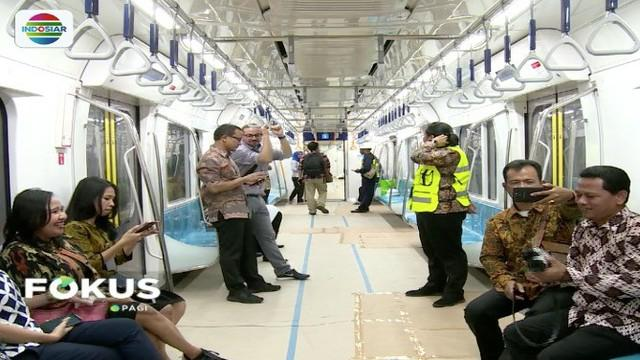 Uji coba MRT Jakarta terus dilakukan, dan ditargetkan rampung pada Maret mendatang. Meski demikian belum ditentukan berapa tarif MRT untuk sekali jalan.