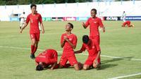 Marselino Ferdinan sejauh ini sudah menyumbang tiga gol dalam tiga laga Timnas Indonesia U-15 di Piala AFF 2019.
