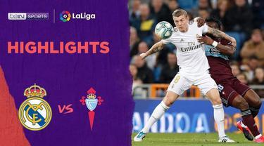 Beriita Video Highlights La Liga, Real Madrid Vs Celta Vigo 2-2