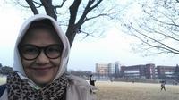Rachmita Harahap rela bolak balik Jakarta Bandung untuk mengajar dan kuliah S3 (dok. Rachmita Maun Harahap)