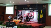 Seminar bertajuk 'Milenial Anti-Hoax' di Unas Jakarta Selatan.